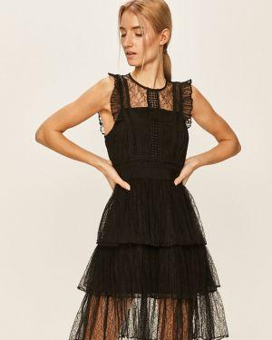 Платье мини ажурное с декольте Morgan