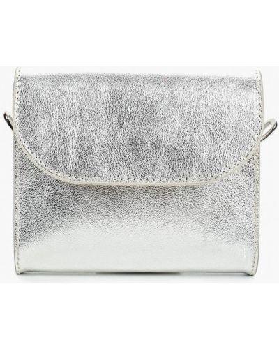 Кожаная сумка через плечо поясная Madeleine