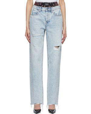 Прямые джинсы mom стрейч Alexander Wang