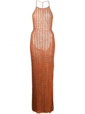 Платье миди - оранжевое Cult Gaia