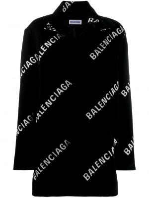 Płaszcz wełniany - biały Balenciaga