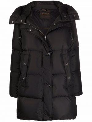 Черная куртка с карманами Moorer