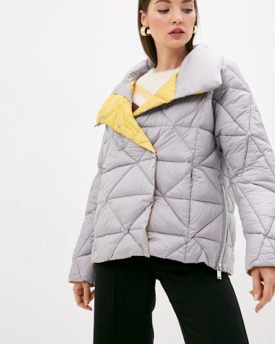 Серая теплая куртка Savage
