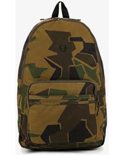 Рюкзак зеленый хаки Fred Perry