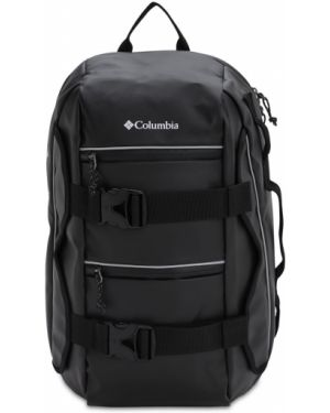 Czarny plecak klamry z paskiem Columbia