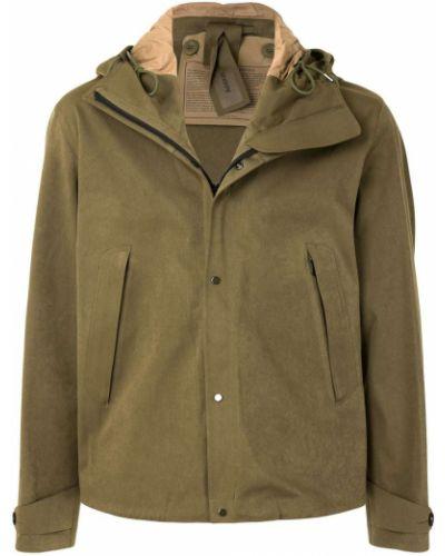 Bawełna anorak kurtka z kapturem z długimi rękawami z mankietami Ten C