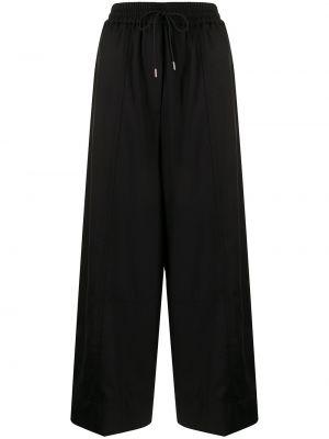 Черные брюки с завышенной талией Paul Smith