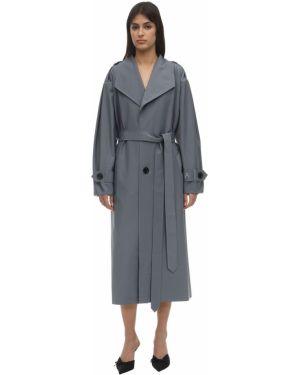 Шерстяное пальто с поясом Anouki