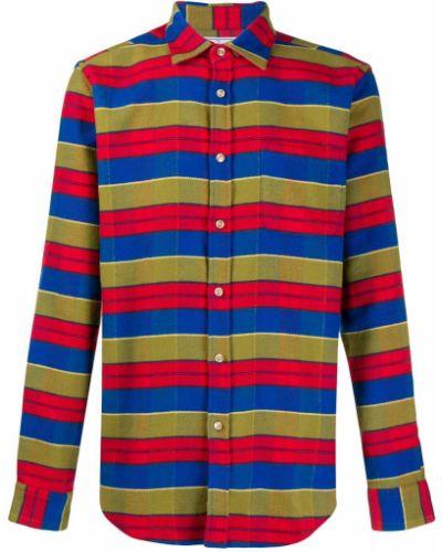 Классическая фланелевая классическая рубашка с воротником Portuguese Flannel