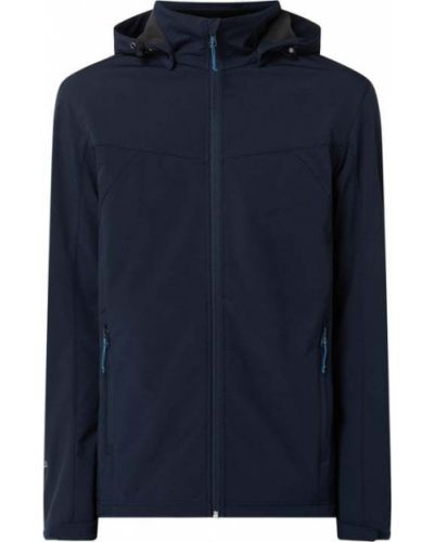 Niebieska kurtka z kapturem na rzepy Icepeak