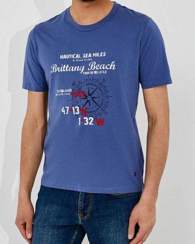 Синяя футболка Daniel Hechter