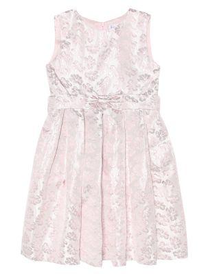Платье розовое с завышенной талией Rachel Riley