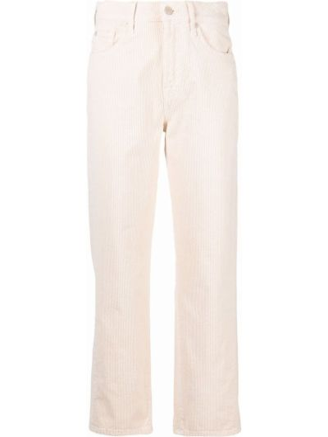 Белые брюки из полиэстера 7 For All Mankind