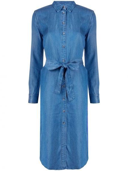 Платье миди джинсовое на пуговицах Tommy Hilfiger