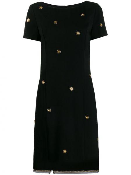 Платье мини короткое - черное Cavalli Class