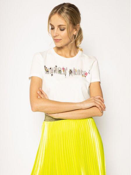 Biała t-shirt Manila Grace