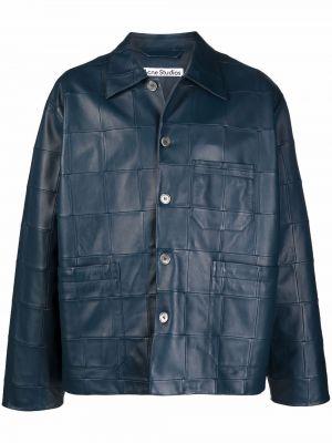 Klasyczna kurtka - niebieska Acne Studios