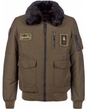 Куртка зеленая Aeronautica Militare