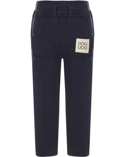 Niebieskie spodnie Douuod