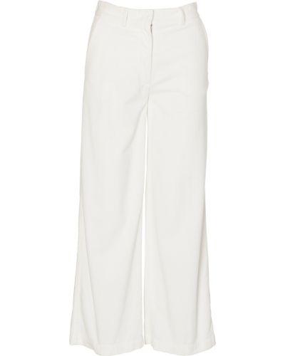 Białe spodnie Aspesi