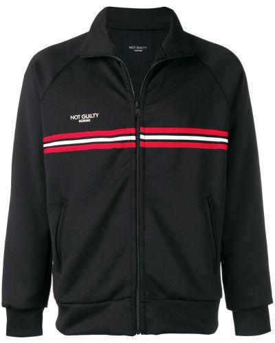 Спортивная куртка с логотипом черная Not Guilty Homme
