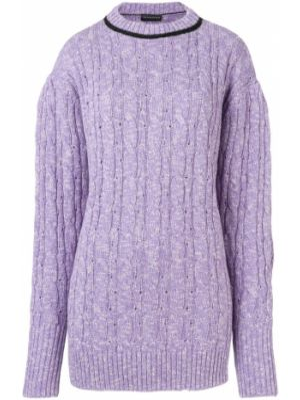 Фиолетовый свитер Cashmere In Love