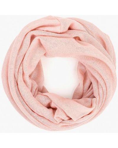Розовый шарф осенний Modis