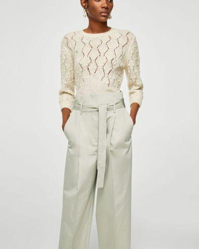 Свободные брюки с карманами с завязками Mango