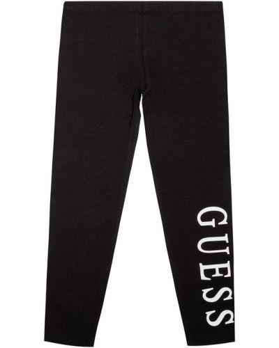 Czarny legginsy Guess