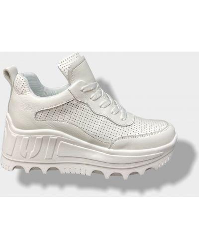 Кожаные кроссовки - белые Ditas