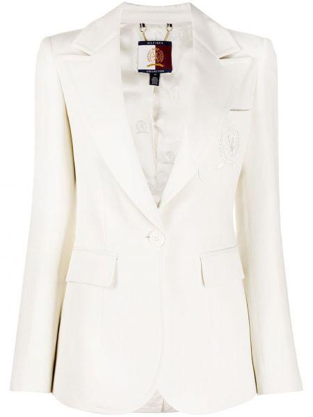 Удлиненный пиджак с карманами Tommy Hilfiger