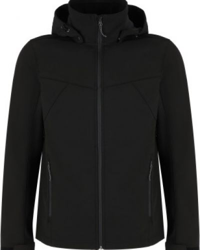 Черная куртка из софтшелла Icepeak
