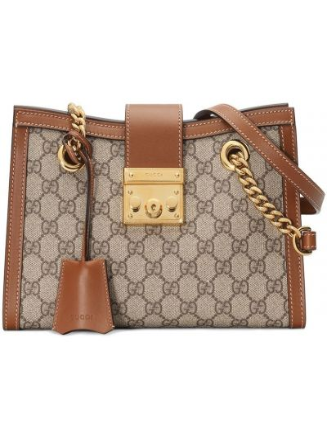 Кожаная маленькая сумка Gucci