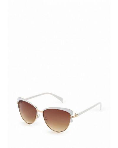 Белые солнцезащитные очки Noryalli