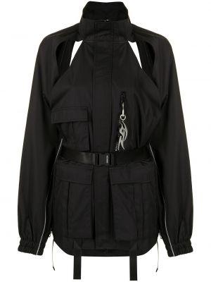 Черная куртка на молнии с воротником Ground Zero
