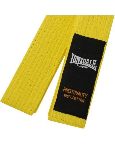 Pasek z paskiem - żółty Lonsdale