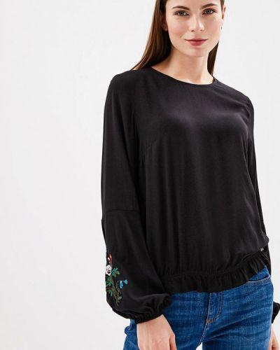 Блузка индийский черная Q/s Designed By