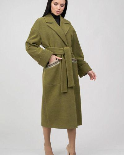 Зеленое пальто Raslov