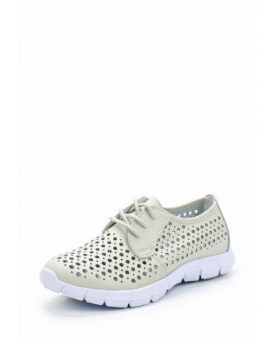Бежевые кожаные ботинки Alessio Nesca