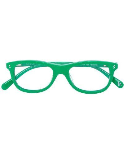Очки с логотипом зеленый Stella Mccartney Kids