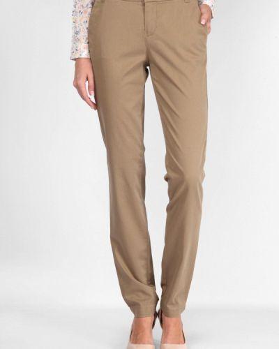 Классические брюки бежевый весенний Lagrand