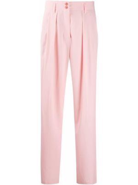 Шерстяные розовые брюки с карманами Paul Smith
