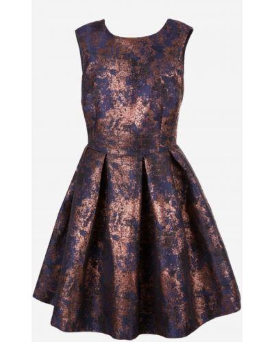Sukienka okrągły bez rękawów w połowie kolana Reserved