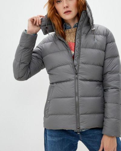 Серая демисезонная куртка Polo Ralph Lauren