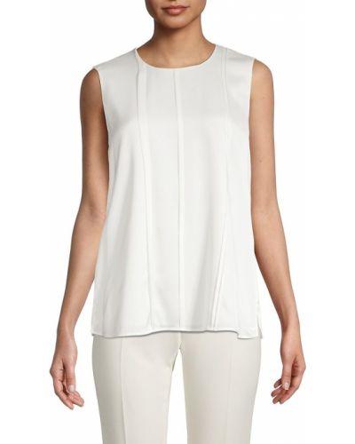 Шелковая блузка - белая Boss Hugo Boss