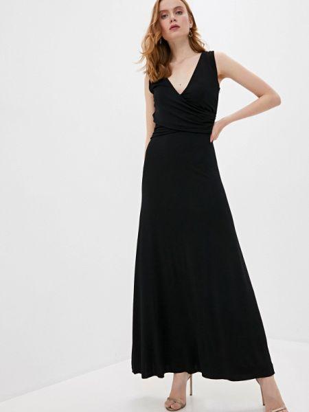 Черное платье Trussardi