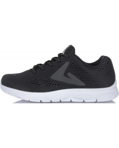 Черные кроссовки беговые для бега с сеткой Demix