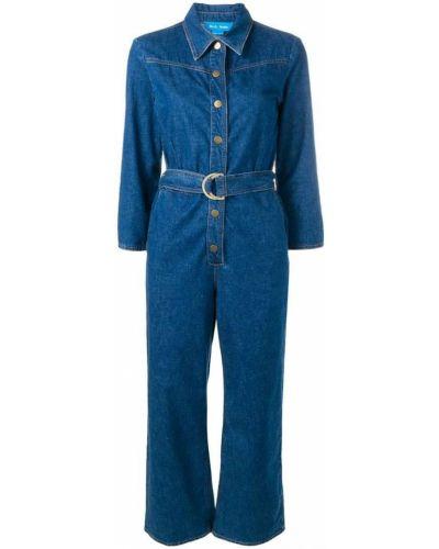 Прямые джинсы классические с карманами с воротником Mih Jeans