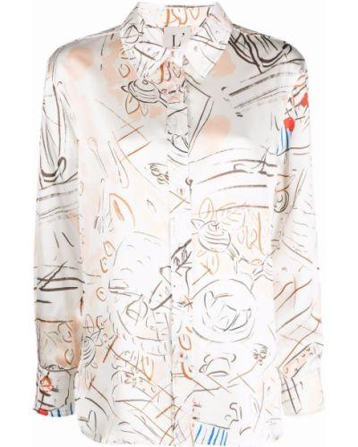 Рубашка с длинным рукавом - белая Lautre Chose