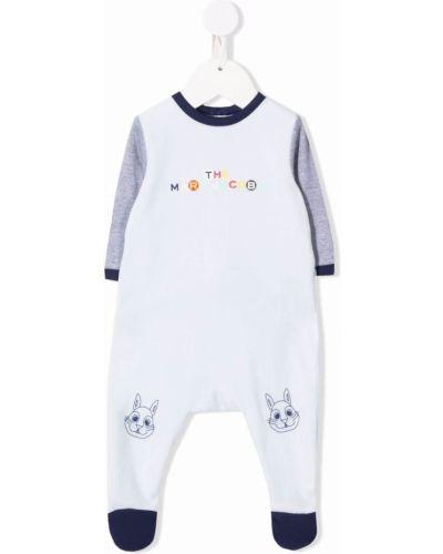 Piżama z długimi rękawami - niebieska The Marc Jacobs Kids